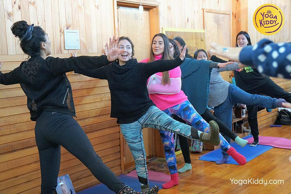 yoga para niños castro chiloe chile yogakiddy formacion 3