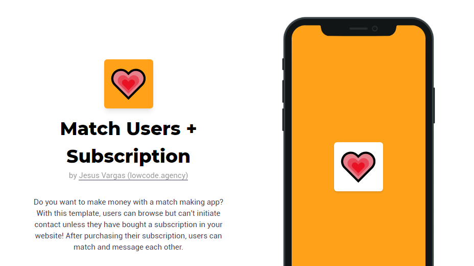 Subscription-based Dating App