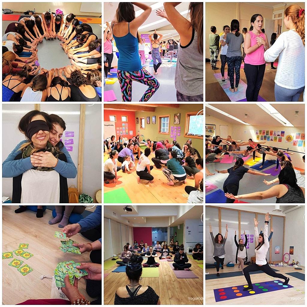 Formación Internacional de Monitor de Yoga Infantil YogaKiddy