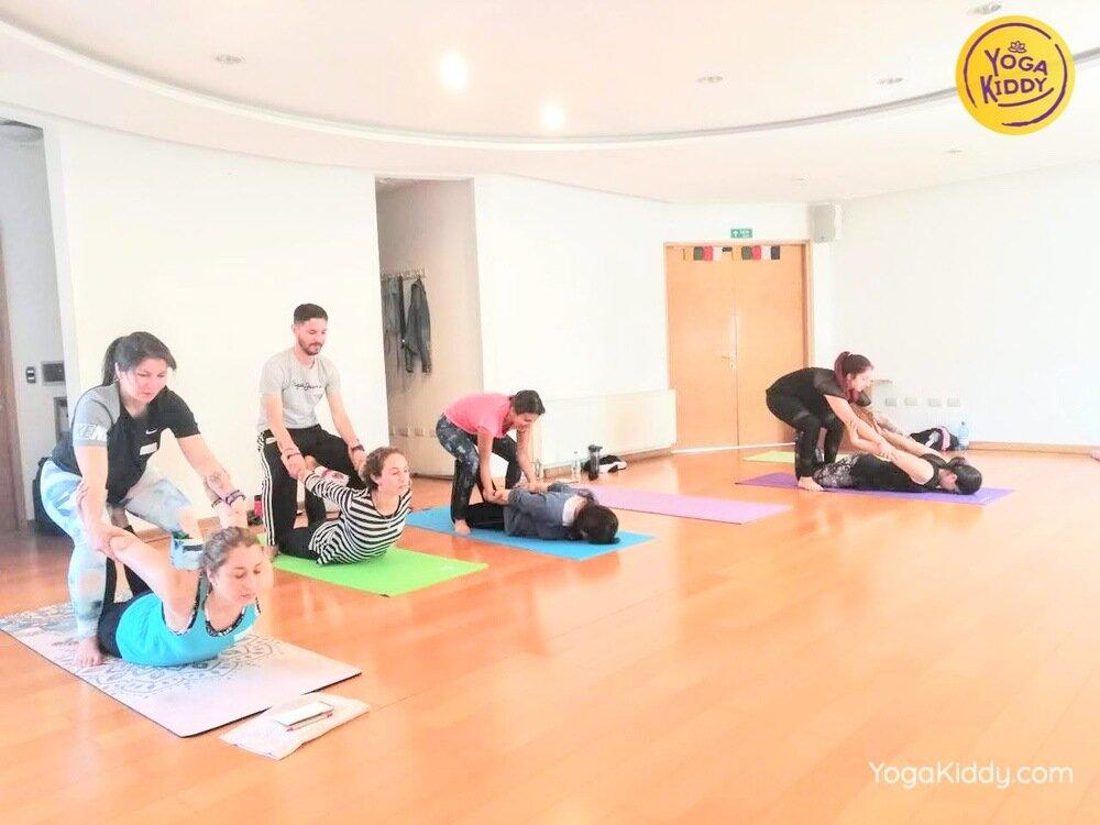 formacion yoga para niños en concepcion chile yogakiddy 5