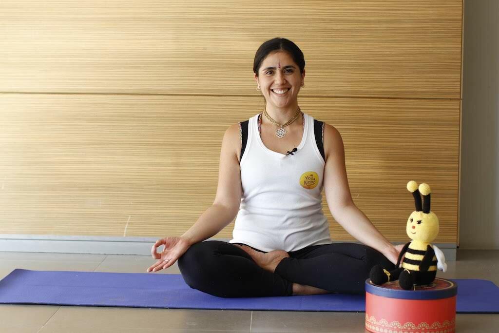 Macarena Bastías - Facilitadora YogaKiddy (Yoga para Niños)
