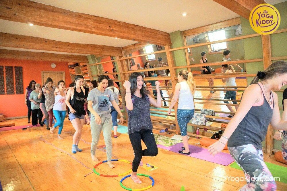 Formación de Yoga para Niños en Santiago, Chile YogaKiddy 43