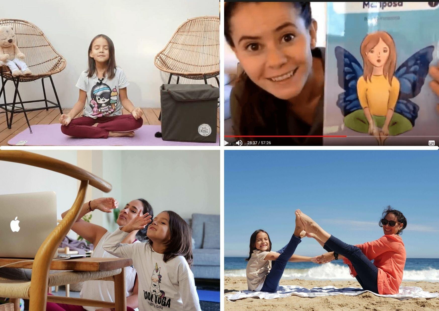 Realiza una clase y/o intervenciones de yoga infantil de manera exitosa