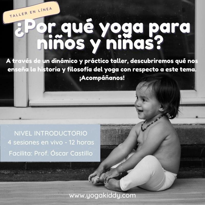 ¿Por qué Enseñar Yoga a Niños y Niñas?