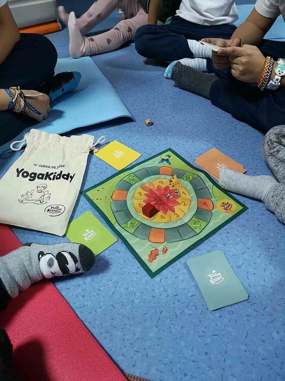 Yoga para niños en Madrid con Alejandra
