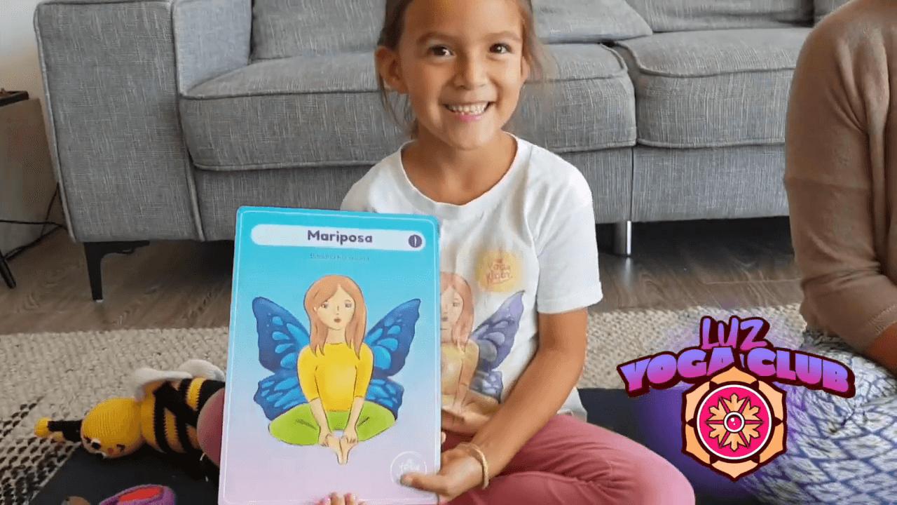 como hacer la postura del la mariposa - yoga para niños