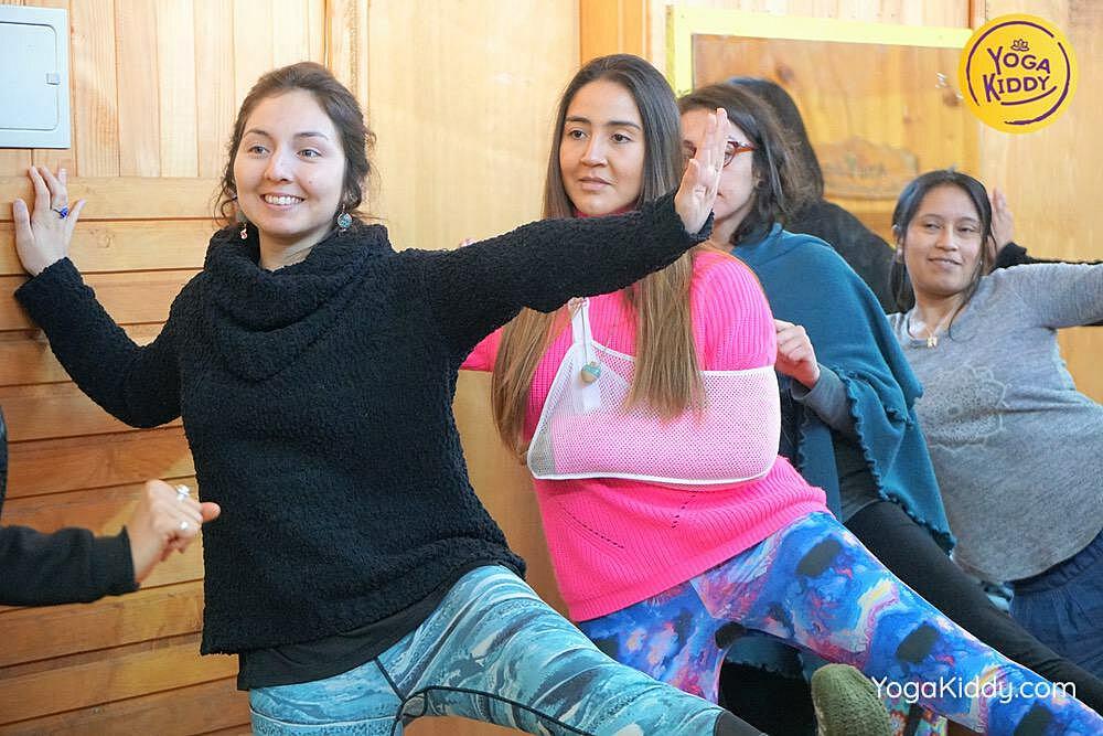 yoga para niños castro chiloe chile yogakiddy formacion 2