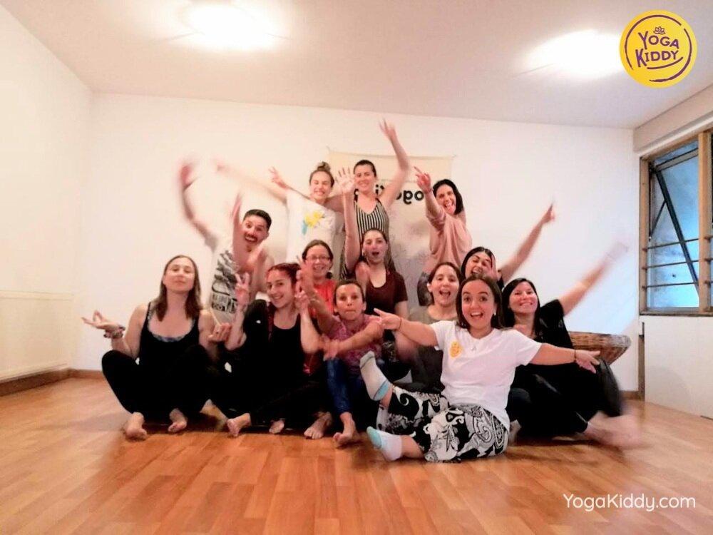 formacion yoga para niños en concepcion chile yogakiddy 8