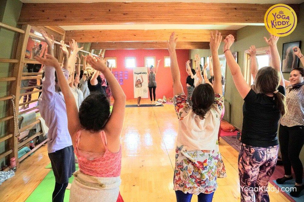 Formación de Yoga para Niños en Santiago, Chile YogaKiddy 14