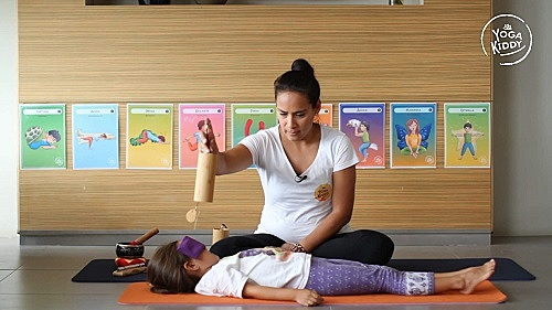 relajacion con niños yoga infantil
