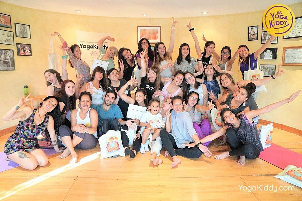 Formación de Yoga para Niños en Santiago, Chile