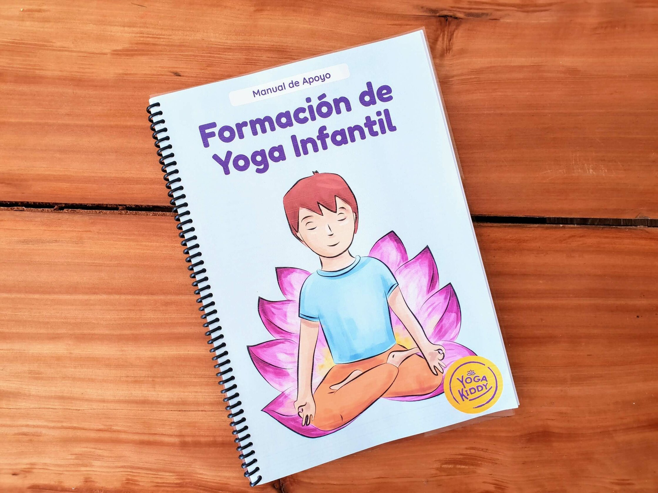 material digital yoga infantil